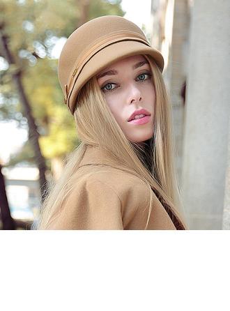 Ladies ' Krásný Vlna Bowler / Cloche Hat