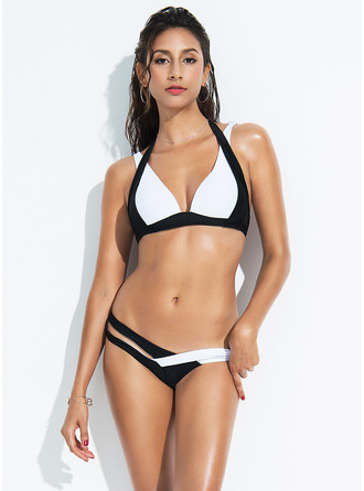 Sexy Low Waist Polyester Bikinis Swimsuit