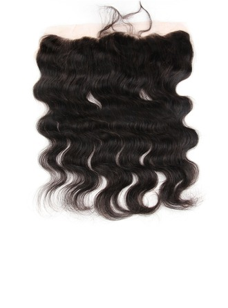 "13""*4"" 4A Non remy Body Human Hair Closure (Sold in a single piece) 60g"