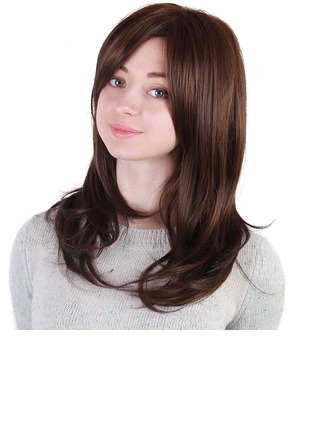 Kinky Straight Synthetic Hair Synthetic Wigs 190g