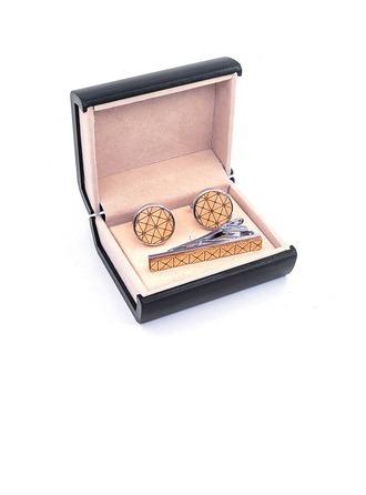 Modern Style Holz Kupfer Krawatten-Sets