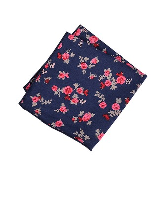 Floral Coton Pocket Square