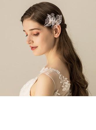 Dame Smukke Voile Kamme & Hårspænder (Sælges i et enkelt stykke)