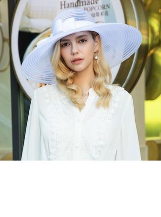 Dames Élégante/Accrocheur/Qualité Fil net avec Une fleur Béret Chapeau/Kentucky Derby Des Chapeaux