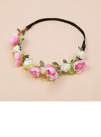 Filles Beau Fleur en soie Bandeaux (Vendu dans une seule pièce)