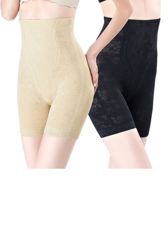 Women Chinlon/Nylon Breathability/Moisture Permeability High Waist Panty Shapers Shapewear