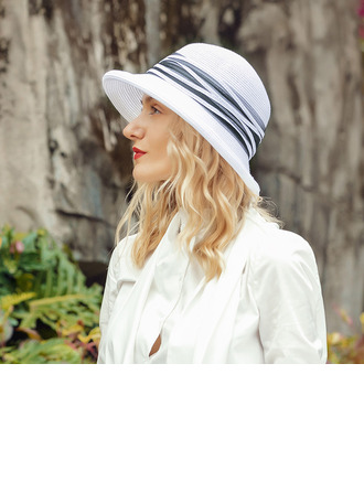 Ladies' Classic/Unique Polyester Beach/Sun Hats/Kentucky Derby Hats