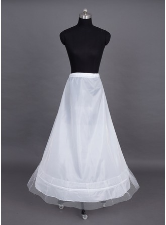 Women Nylon/Tulle Netting Floor-length 1 Tiers Petticoats