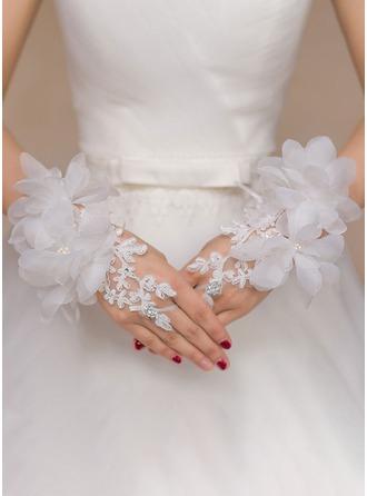 полиэстер Наручные длина Свадебные перчатки