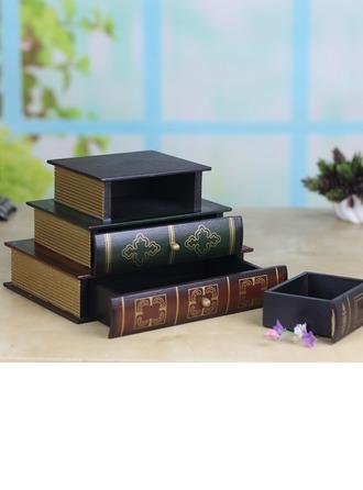 Presentes Da Noiva - Bonito Clássico Elegante De Madeira Caixa de jóias