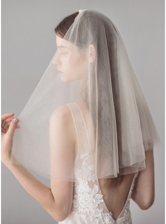 One-tier Shoulder Veils