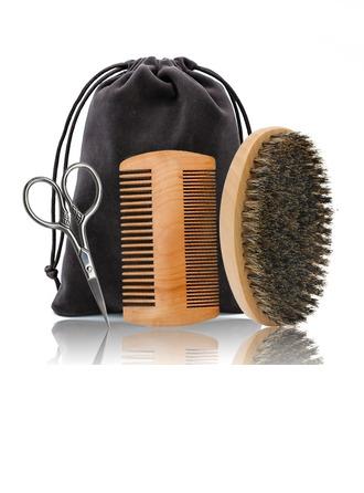 Groomsmen Gifts - Classic Elegant Wooden Beard Kit