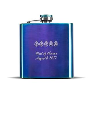 Groomsmen Geschenken - Persoonlijke Roestvrij Staal fles
