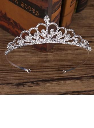 Dame Elegant Legering Tiaraer (Sælges i et enkelt stykke)