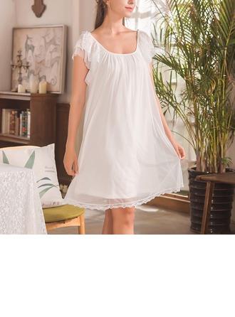 Modalt/Tyll Brud/Feminin Nattkläder