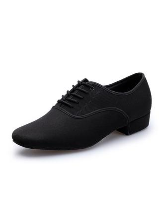 Men's Canvas Latin Modern Practice Dance Shoes