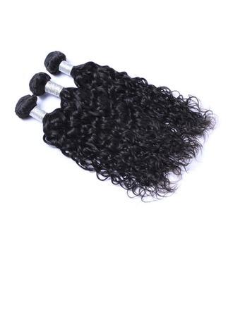 7A Corte primario Onda de agua Cabello humano Postizo de cabello humano (Vendido en una sola pieza) 100g