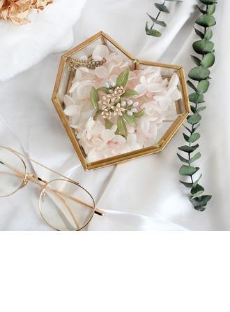 Cadeaux De Mariée - Beau Verre Alliage Boîte à bijoux
