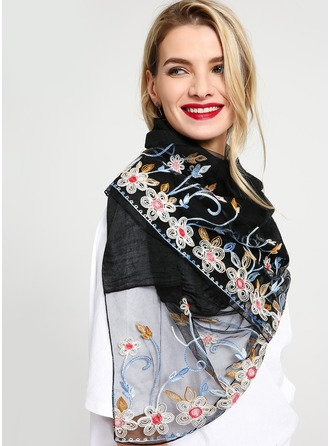 Floral Light Weight/attractive Cotton Scarf