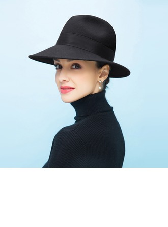 Ladies' Beautiful/Romantic Wool Floppy Hat