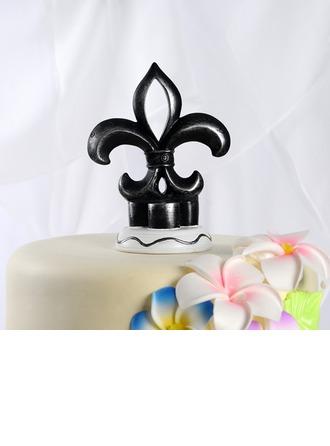Flower-de-luce Resin Wedding Cake Topper