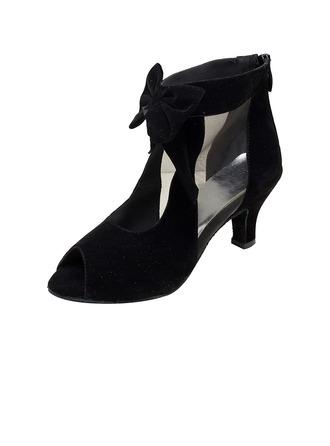 De mujer Ante Danza latina Zapatos de danza