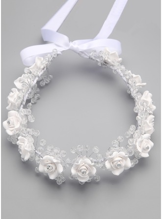 Polymer Clay With Flower Flower Headband