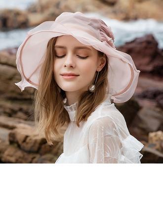 Dames Glamour/Style Classique/Gentil/Romantique Soie Disquettes Chapeau/Chapeaux Tea Party