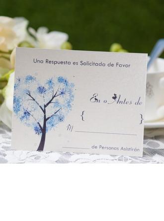 Personlig Modern Svarskort (Sats om 50)