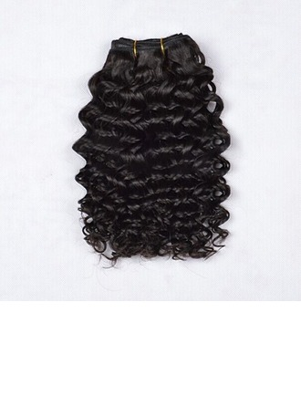Water Wave Synthetic Hair Human Hair Weave (Sold in a single piece) 100g