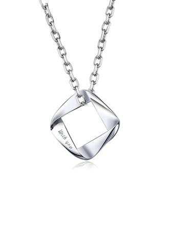 Individualisiert Damen Ewige Liebe 925 Sterlingsilber Name/Graviert Halsketten Ihr/Brautjungfern