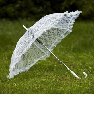 Delicate Lace Wedding Umbrellas