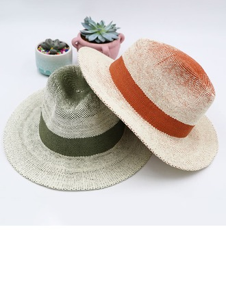 Dos homens Bonito/Moda/Elegante/Simples Papiro Chapéu panamá/Kentucky Derby Bonés
