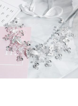 Dames Kristal/Strass Hoofdbanden (Verkocht in één stuk)