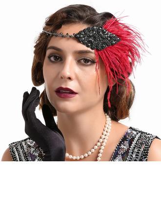 Sonar Naisten Loistokkaat/Ainutlaatuinen/Uskomattomia/Herättävää Feather jossa Feather Koristeet/Kentucky Derbyn hatut/Tea Party Hatut