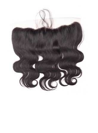 4A Body Wavy Human Hair Closure (Sold in a single piece)