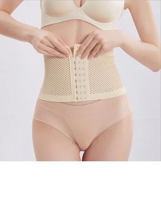 Kvinner Klassiek/Toevallig Spandex Kleur Ademend Taille Cinchers Corrigerend Ondergoed