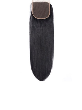"4""*4"" 5A Virgin/remy Straight Human Hair Closure (Sold in a single piece) 50g"