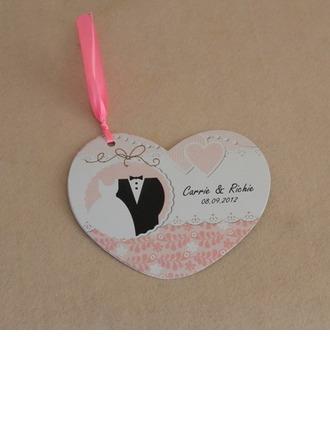 Personlig Bride & Groom stil Invitation Cards (Sats om 10)