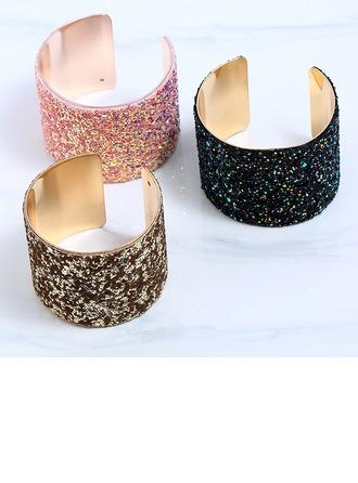 Luminoso Aleación Señoras' Pulseras de Moda (Sold in a single piece)