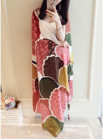 Blumen/Geometrische drucken überdimensional Schal