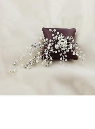 Damer Söt Legering Kammar & Barrettes med Venetianska Pärla (Säljs i ett enda stycke)
