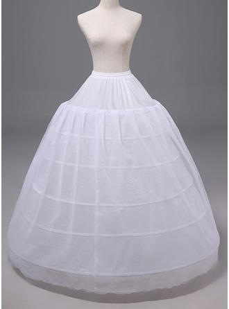 Kvinner Polyester Underskjørt