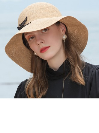 Ladies' Glamourous/Classic/Elegant/Simple/Nice Raffia Straw Straw Hats