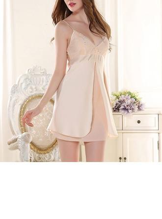 Satén/Polyester Pro nevěstu/Ženské Oblečení na spaní