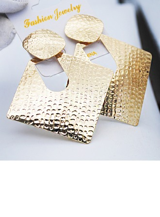 Stylish Iron Women's Fashion Earrings (Sold in a single piece)