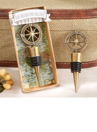 Groomsmen Gifts - Vintage Zinc alloy Wine Stopper