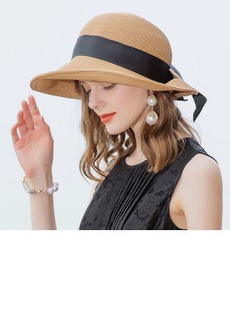 Señoras' Estilo clásico/Elegante/Simple/Estilo de la vendimia/Artístico Papiro Sombreros Playa / Sol
