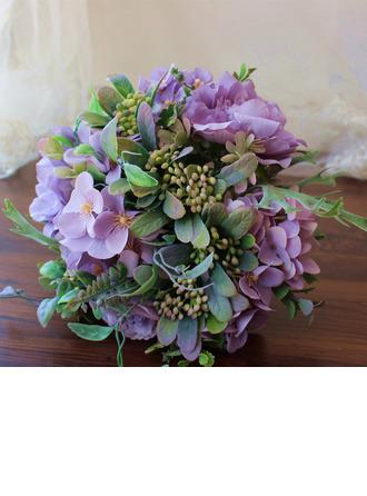 Hauskannäköinen Vapaamuotoinen Silkki kukka Morsiamen kukkakimppuihin - Morsiamen kukkakimppuihin