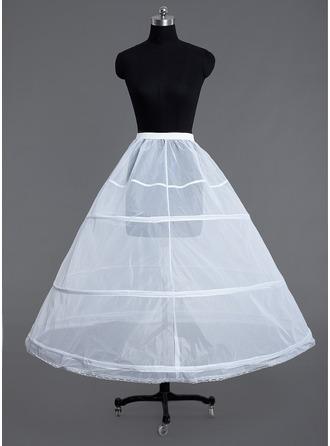 Women Tulle Netting Floor-length 1 Tiers Petticoats